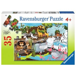 Puzzle - Day at the Zoo