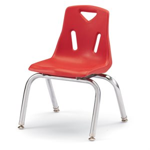 Berries® Stacking Chairs With Chrome Plated Legs