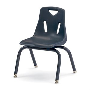 Berries® Stacking Chairs With Powder Coated Legs