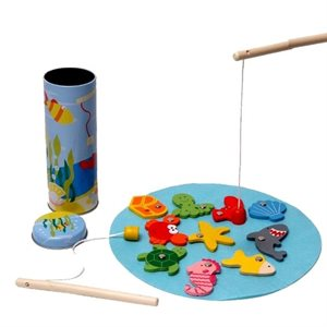 Fishing tin game