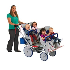 Runabout Stroller Quad (2x2)