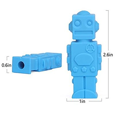 Pencil Topper - Robot-to-Chew