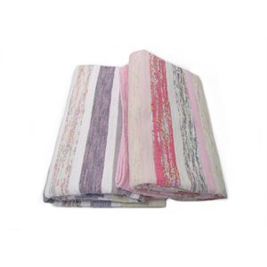 Single Catalogne Blanket Pink-Purple
