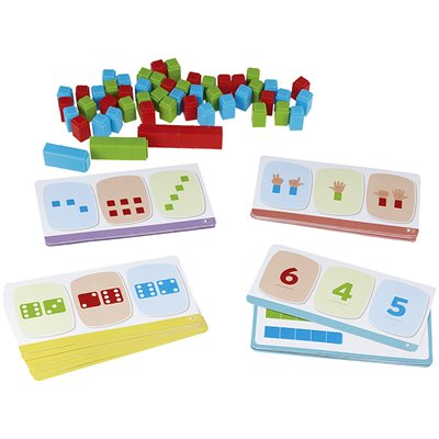 Cubes & Numbers Activity Set