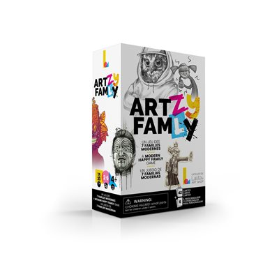 ArtZy FamLy - A modern happy family game