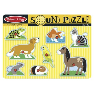 Wooden Sound Puzzles