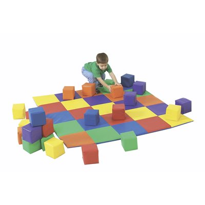 Ensemble de tapis et de blocs assortis Joey