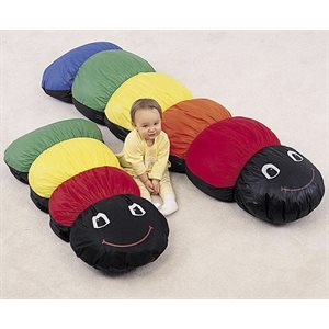 Caterpillar Pillow 176 cm x 44 cm x 28 cm