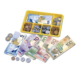 Canadian Currency Play Money