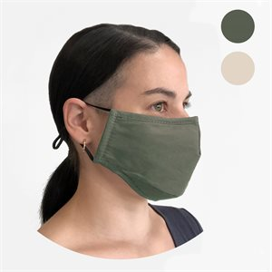 2 washable adult masks with 1 filter