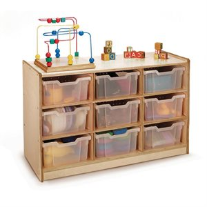 Nine Tray Storage Cabinet