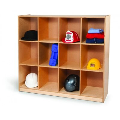 12 Cubby Backpack Storage Cabinet